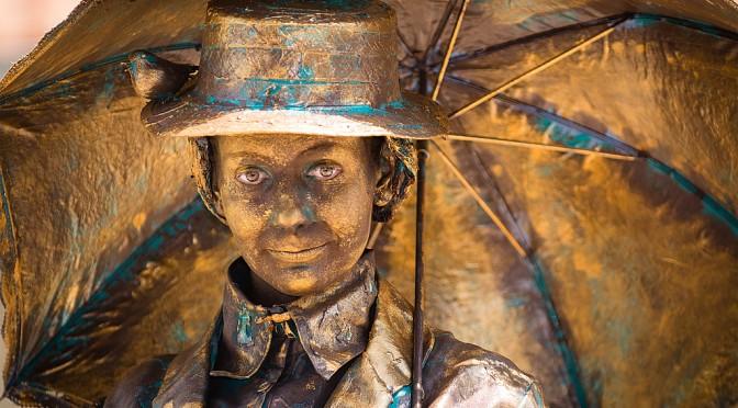 NK Living Statues 2015