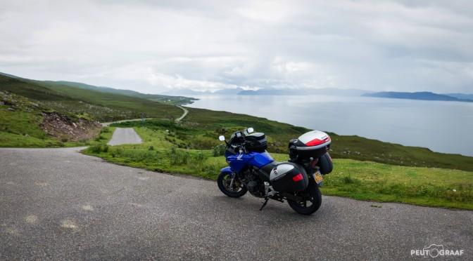 Op twee wielen door Schotland
