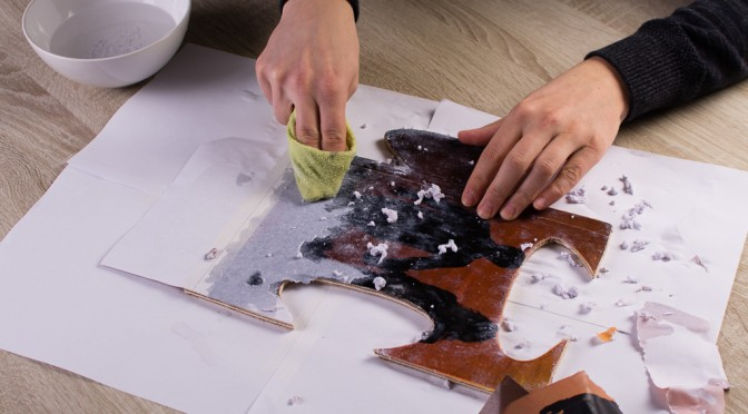 DIY: Foto op hout